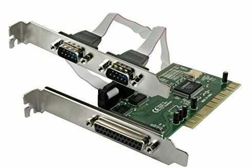 Connectland 0704002 2 szeregowy i 1 port równoległy karta kontrolera PCI