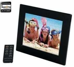 Kraun KZ.8M 8 cali czarna cyfrowa ramka na zdjęcia - cyfrowa ramka na zdjęcia (20,3 cm (8 cali), 800 x 600 pikseli, 4:3, JPG, MPEG1, MPEG2, MPEG4, MP3)