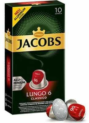 Kawa w kapsułkach JACOBS LUNGO 6 CLASSICO. Kup taniej o 40 zł dołączając do Klubu