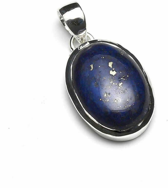 Kuźnia Srebra - Zawieszka srebrna, 35mm, Lapis Lazuli, 7g, model