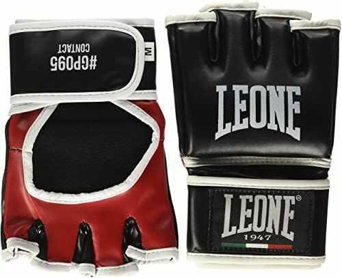 Leone 1947 Contact rękawice MMA, czarne, M