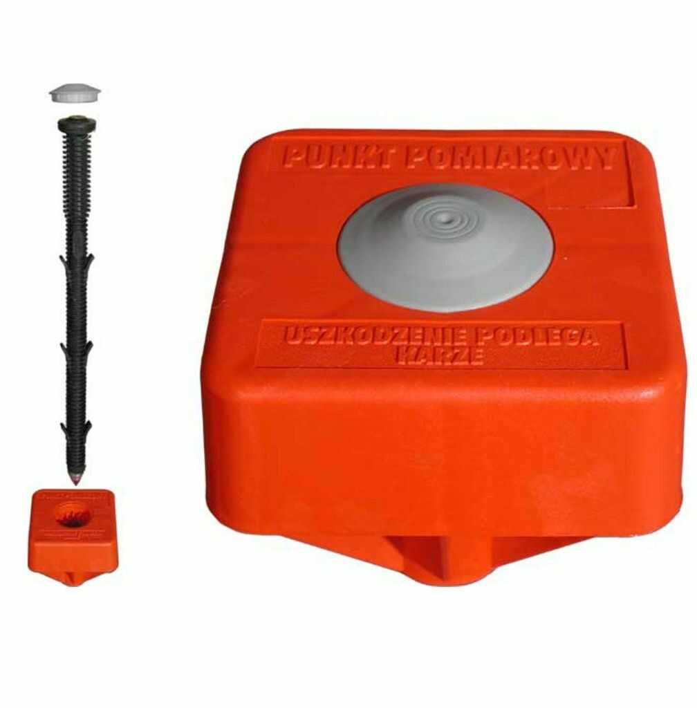 Punkt graniczny pomiarowy PLASTMARK 40 cm