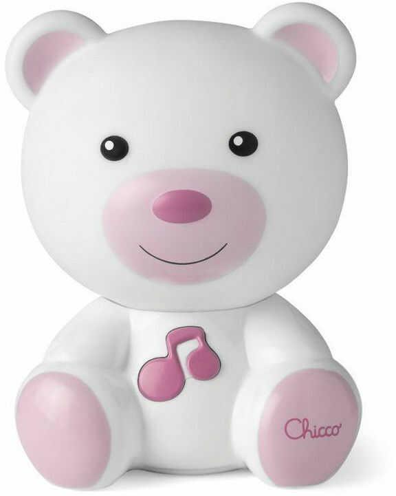 Chicco First Dreams - Nocna lampka Słodkie sny Różowa 98301