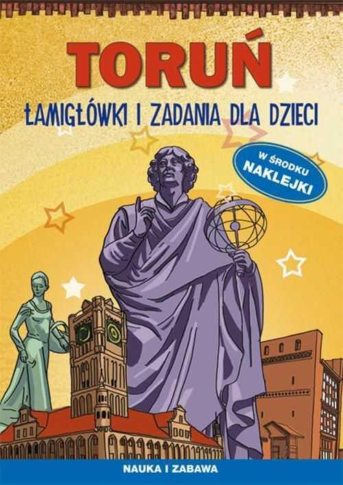 Toruń Łamigłówki i zadania dla dzieci - Maria Pietruszewska - ebook