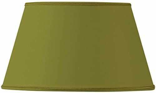 Klosz lampy/klosz do półwarstw, 35 x 24 x 20 cm, brąz zielony