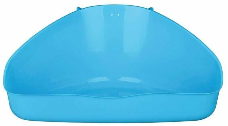 TRIXIE - TX 62551 toaleta narożna dla gryzoni 36 21 30/30 cm