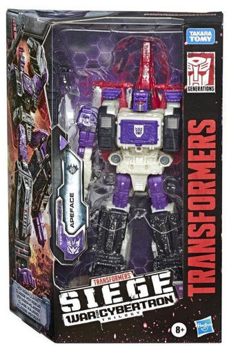 Hasbro - Transformers Siege War for Cyberatron WFC-S50 Apeface E7163