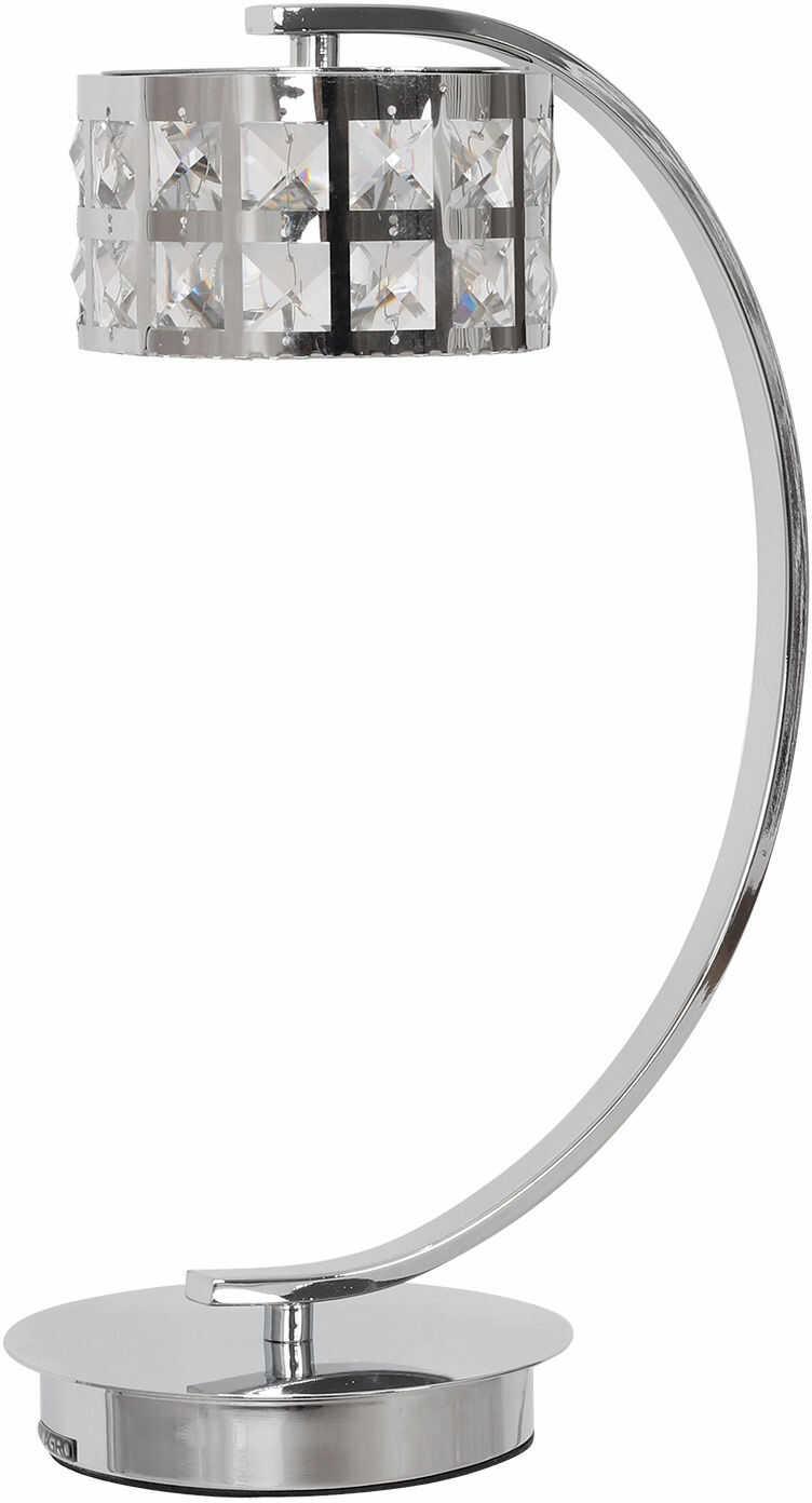 Milagro ALEX ML173 lampa stołowa chrom drobne kryształki 5W LED 4000K 39cm