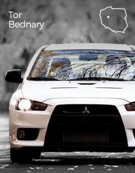 Jazda za kierownicą Mitsubishi Lancer Evo X  Tor Bednary