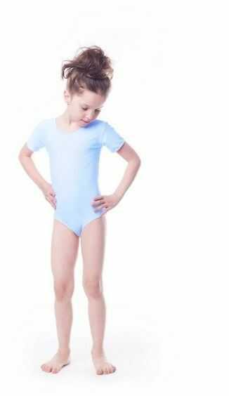 Shepa body gimnastyczne lycra (b8) krótki rękaw