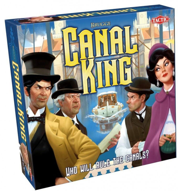 Canal King ZAKŁADKA DO KSIĄŻEK GRATIS DO KAŻDEGO ZAMÓWIENIA