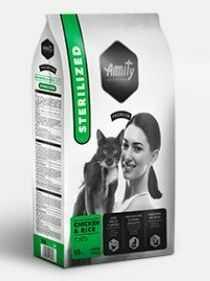 AMITY premium cat STERILISED chicken/rice