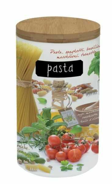 PORCELANOWY POJEMNIK NA MAKARON, KLUSKI - Pasta (753 PASS)
