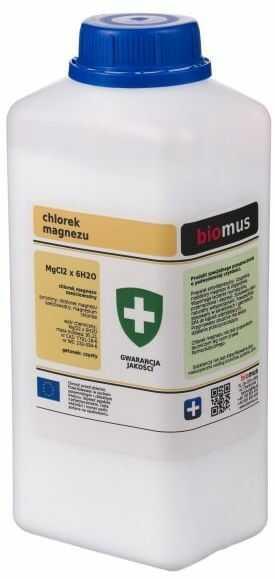 Chlorek Magnezu Sześciowodny 1 kg Biomus