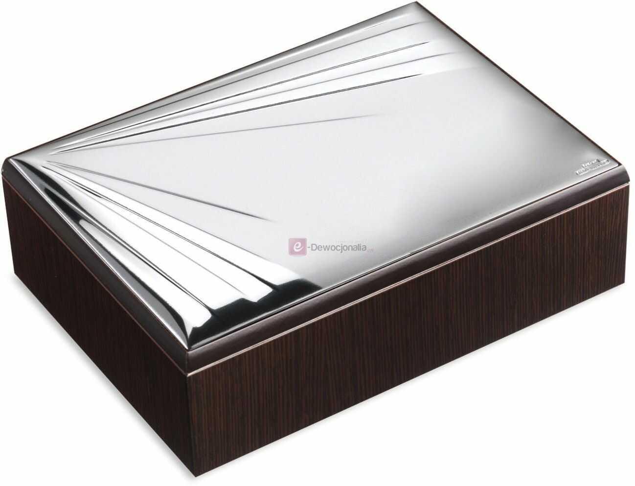 Szkatułka srebrna na drobiazgi Amazon 14x19
