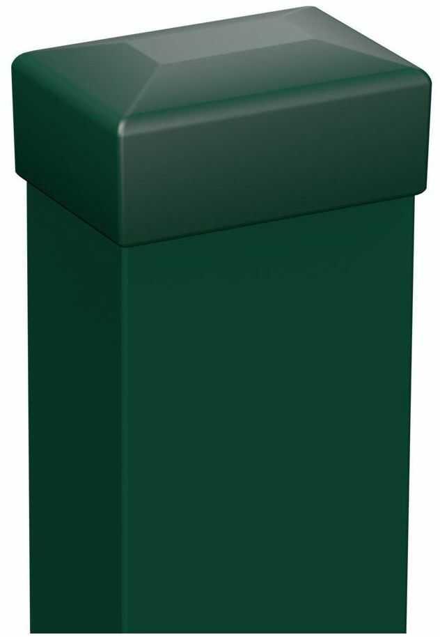 Słupek ogrodzeniowy 6 x 4 x 200 cm zielony POLARGOS