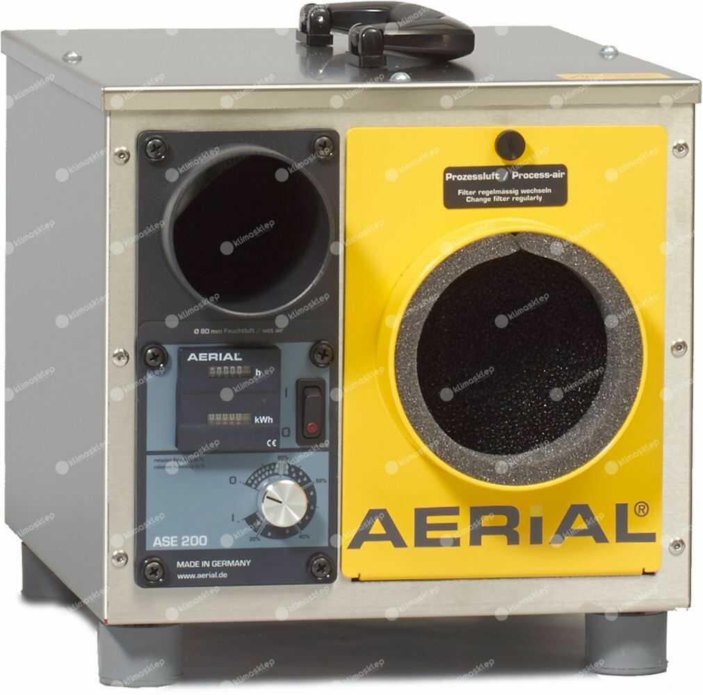 Osuszacz powietrza Aerial ASE 200 - adsorpcyjny
