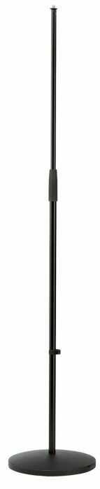 K&M 26010-300-55 statyw mikrofonowy prosty, czarny