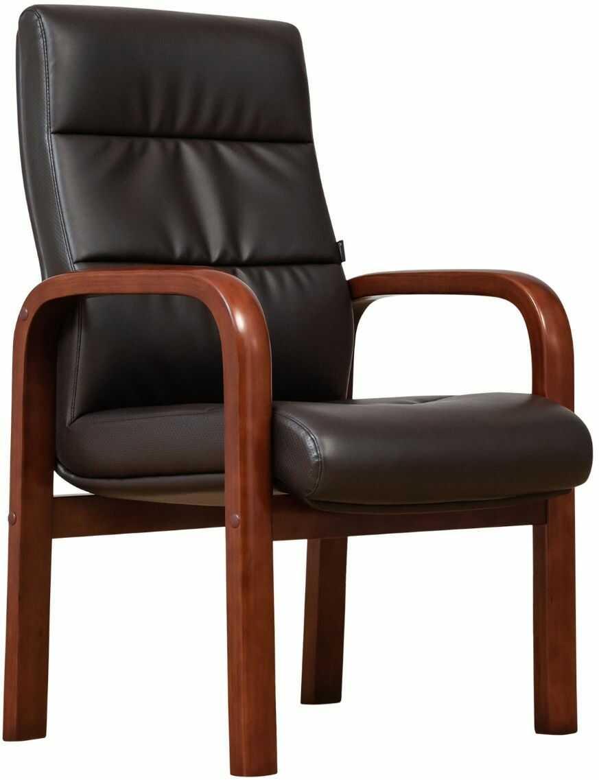 Krzesło biurowe PROGRESS brązowy