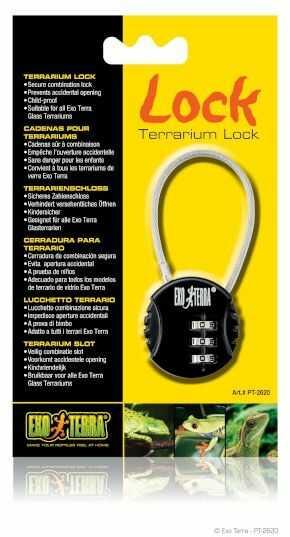 Exo-Terra Lock - zamek do terrarium