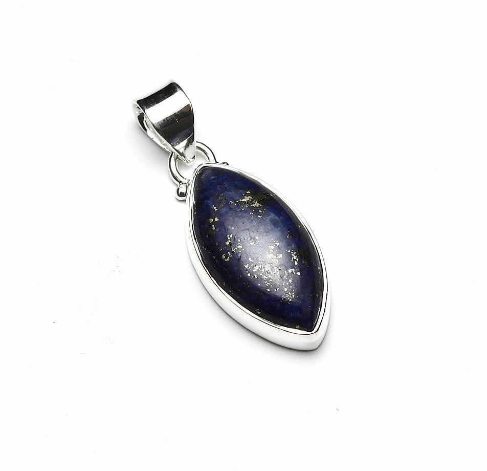 Kuźnia Srebra - Zawieszka srebrna, 35mm, Lapis Lazuli, 5g, model