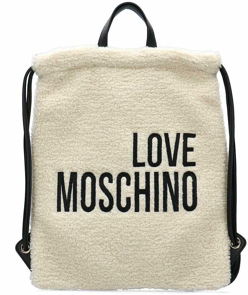 Love Moschino - Worek Damski - JC4306PP08KP110A - Beżowy