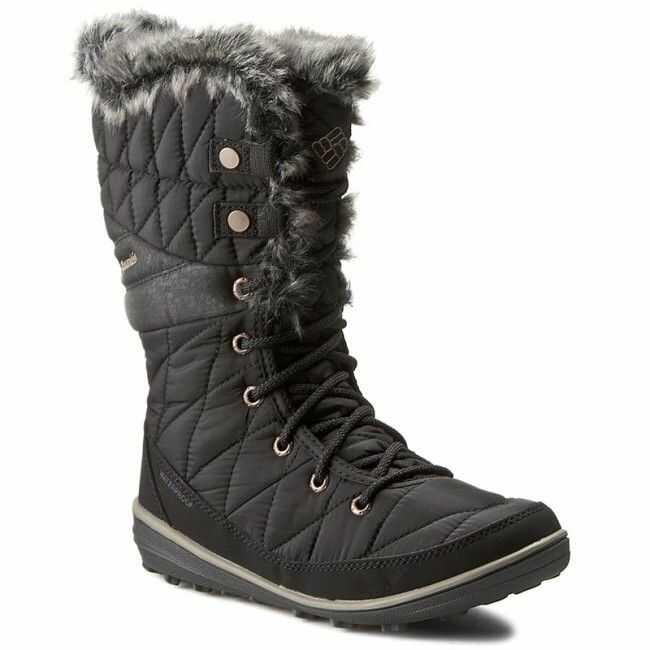 Śniegowce COLUMBIA - Heavenly Omni-Heat BL1661 Black/Kettle 010