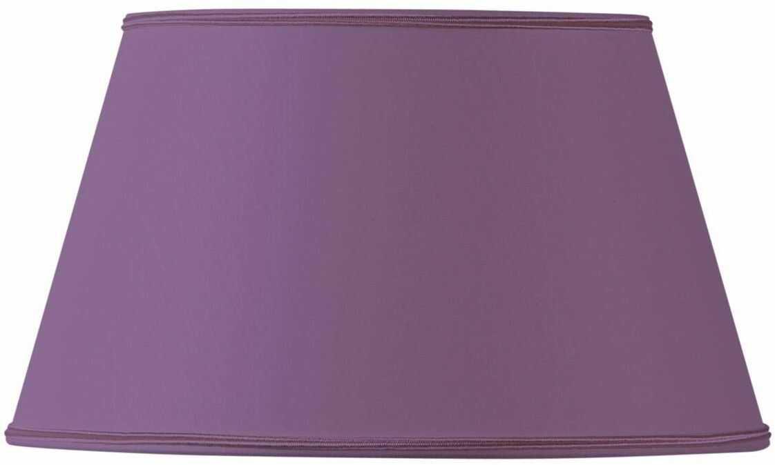Klosz lampy z półwarstwy, 45 x 32 x 26 cm, fioletowy