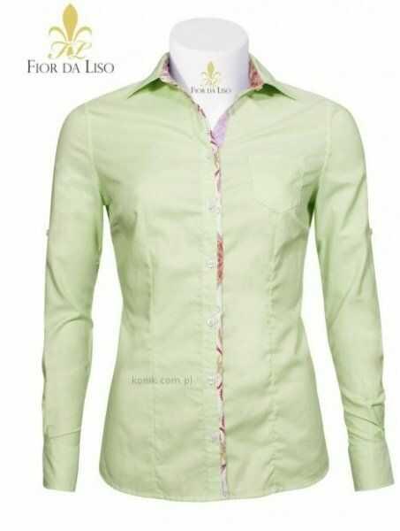 Koszula REBECCA damska - FIOR DA LISO - apple uni
