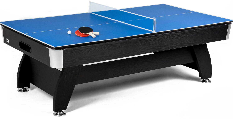 Nakładka Ping-Pong Blat na stół bilardowy 8ft Czarna