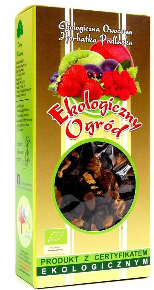 Herbatka ekologiczny ogród bio 100 g - dary natury