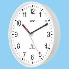 Zegar biały sterowany radiowo #1
