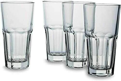 Bohemia Cristal 093 006 137 szklanki do latte macchiato ok. 350 ml ze szkła wapniowego z natronu zestaw 4 szt.