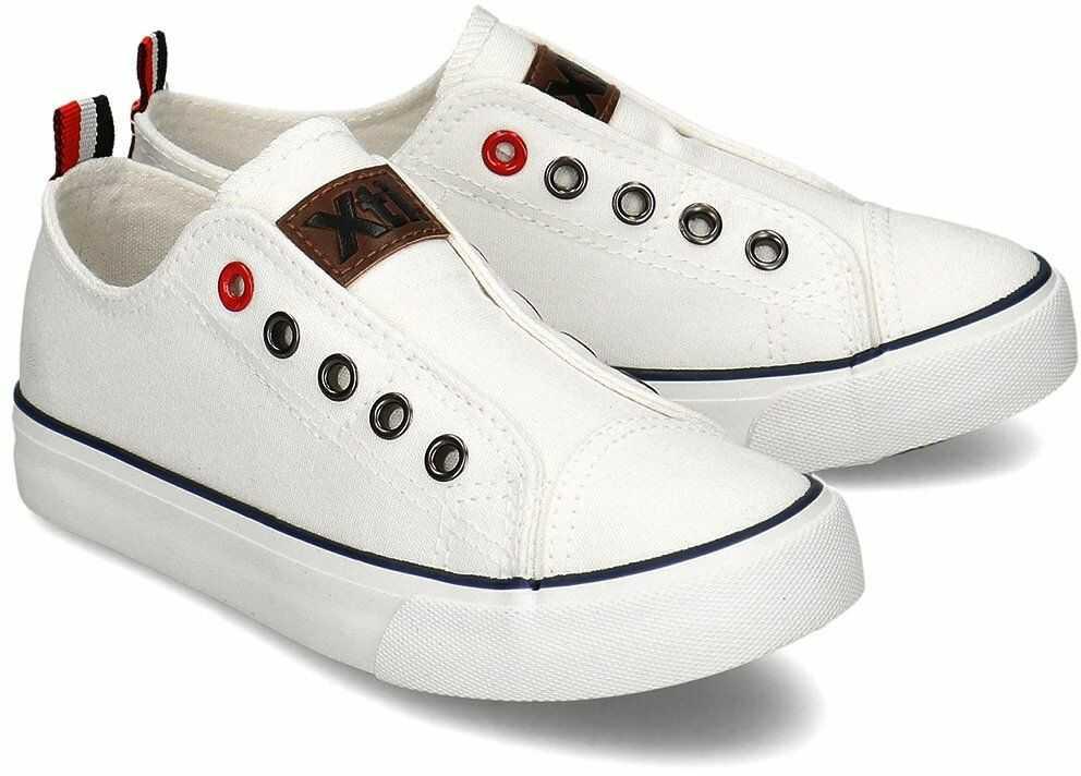 Xti - Trampki Dziecięce - 57067 WHITE - Biały