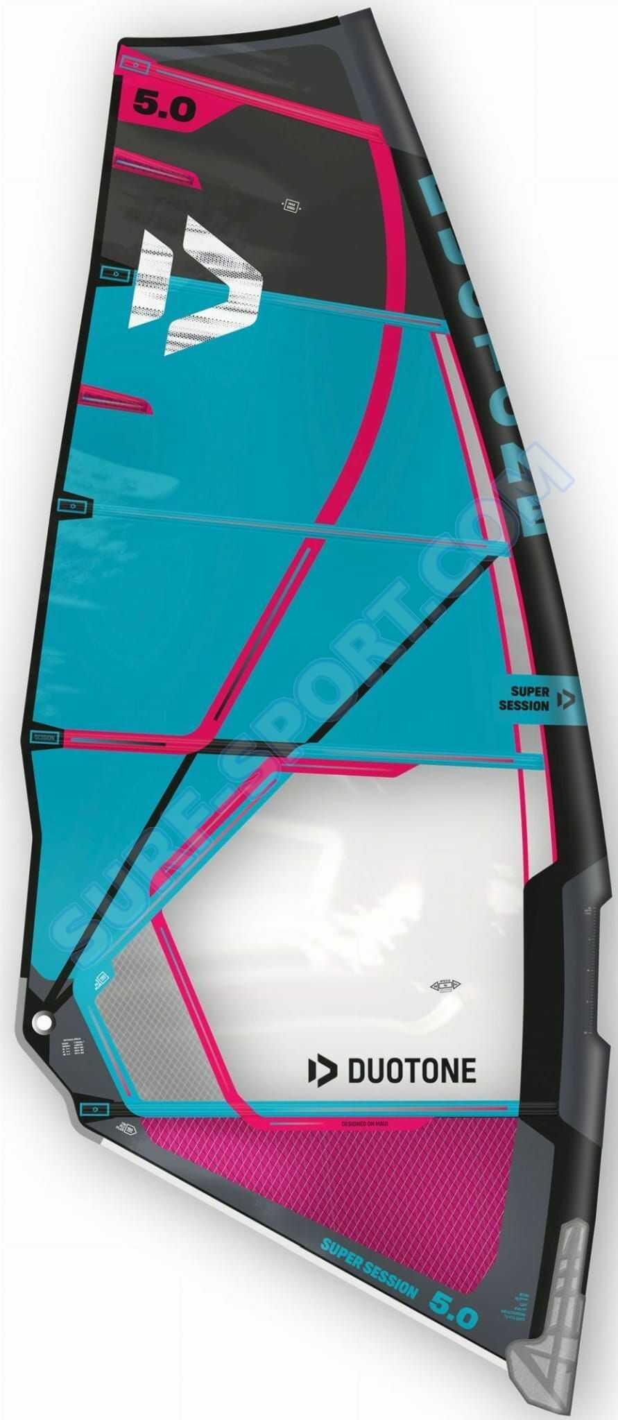 Żagiel Do Windsurfingu Duotone Super Session Sail 2020 Blue/Black