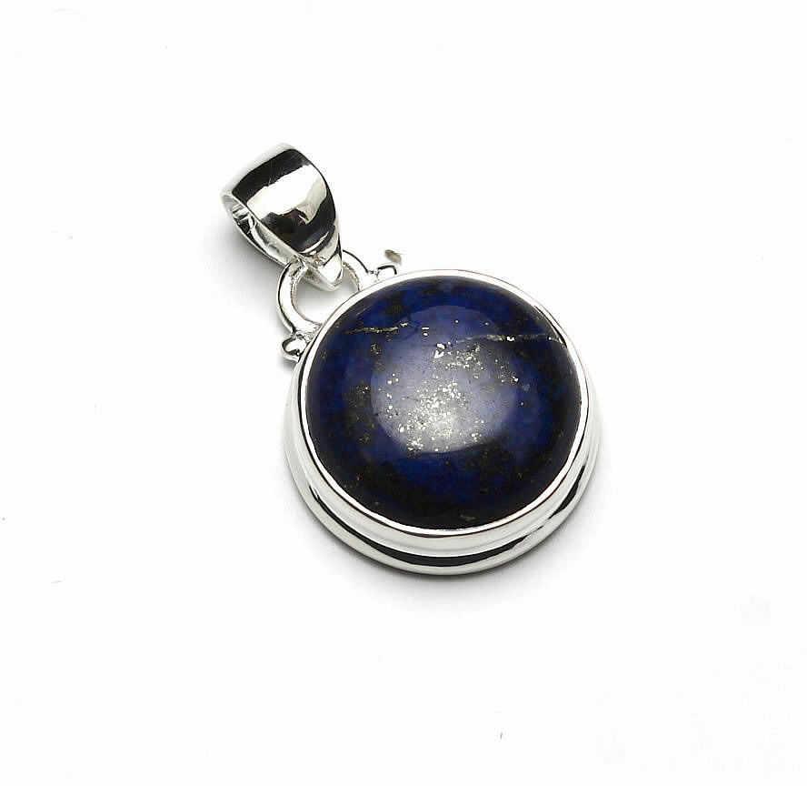 Kuźnia Srebra - Zawieszka srebrna, 29mm, Lapis Lazuli, 6g, model
