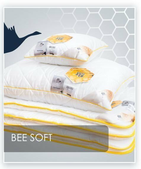 Poduszka Synthetic Exclusive Satyna Bawełniania Bee Soft AMZ
