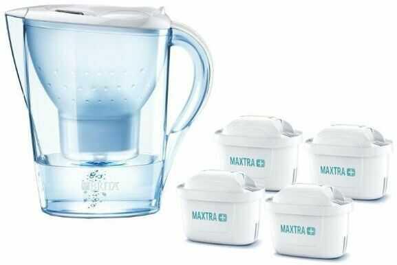 Brita Marella XL (biały) + 4 wkłady Pure