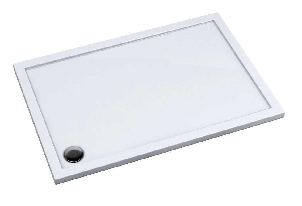 Schedpol Corrina New brodzik prostokątny z SafeMase 120x70x4cm 3.4366