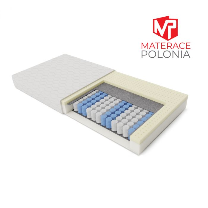 materac kieszeniowy KORONNY MateracePolonia 100x200 H2 + DARMOWA DOSTAWA