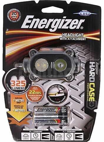 Latarka czołowa ENERGIZER HCHD311 LED wodoodporna 22h 325lm