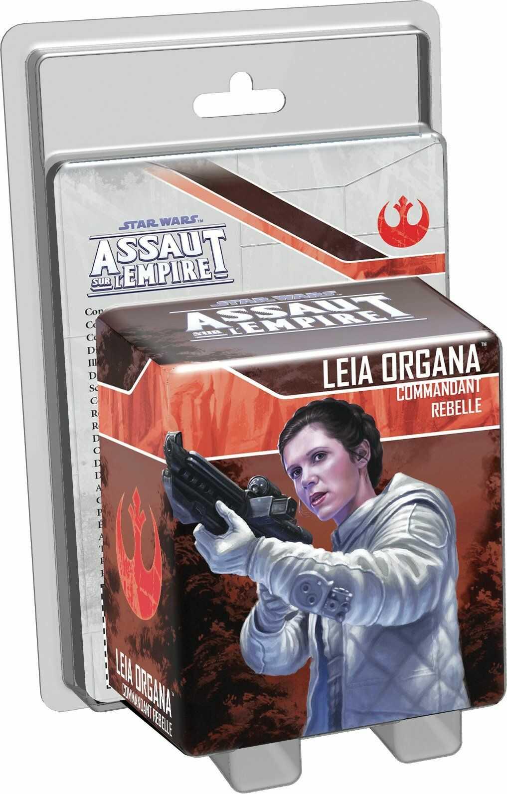 Asmodee  UBISWI22  Gwiezdne Wojny  karabin szturmowy  Leia Organa