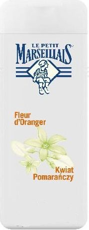 Le Petit Marseillais 400ml żel pod prysznic kwiat pomarańczy [W]