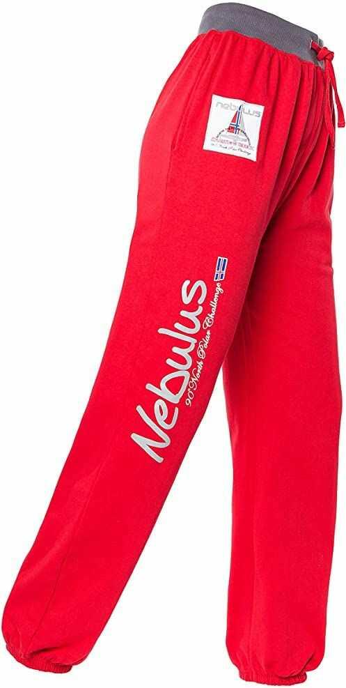 Nebulus Spodnie dresowe czerwone S