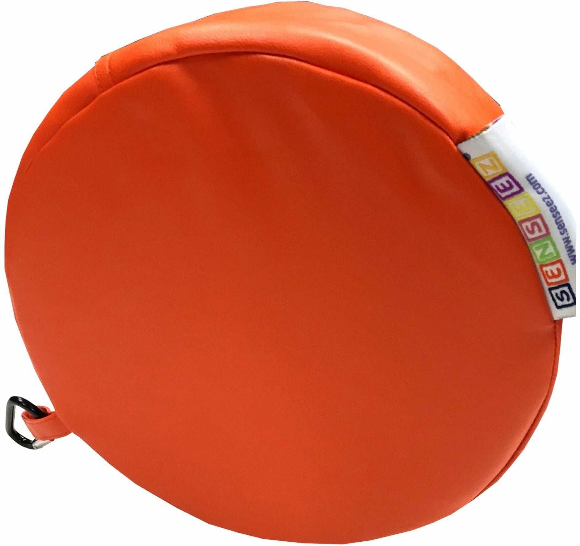 Senseez SENZ58704 okrągła poduszka, pomarańczowa