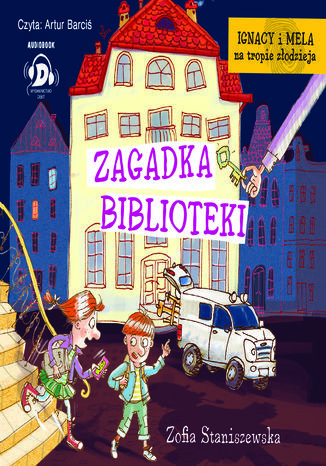 Zagadka biblioteki - Audiobook.