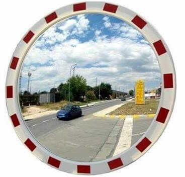 lustro drogowe akrylowe u-18a 600 mm