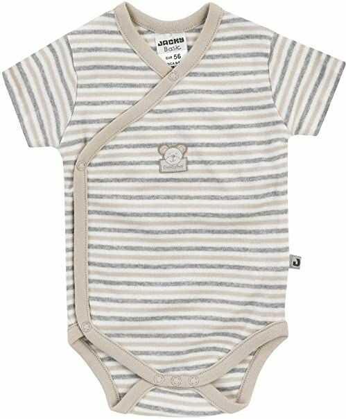 Jacky Uniseks dzieci podstawowa koszulka z długim rękawem z kokardą biały/czarny 56