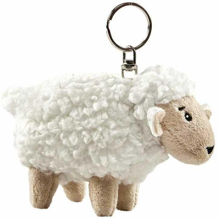 Anima  pluszowa owieczka na drzwi kluczyk mała książka (X24)