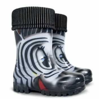 DEMAR II kalosz zebra